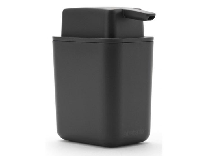 Dozownik mydła w płynie 250ml SinkSide ciemnoszary 302503 kod: 302503 Dozowniki Tworzywo sztuczne Kategoria Mydelniczki i dozowniki