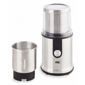elektryczny młynek do kawy i przypraw, stal/tworzywo sztuczne, śr. 11,5 x 24 cm kod: AD-KA 1805
