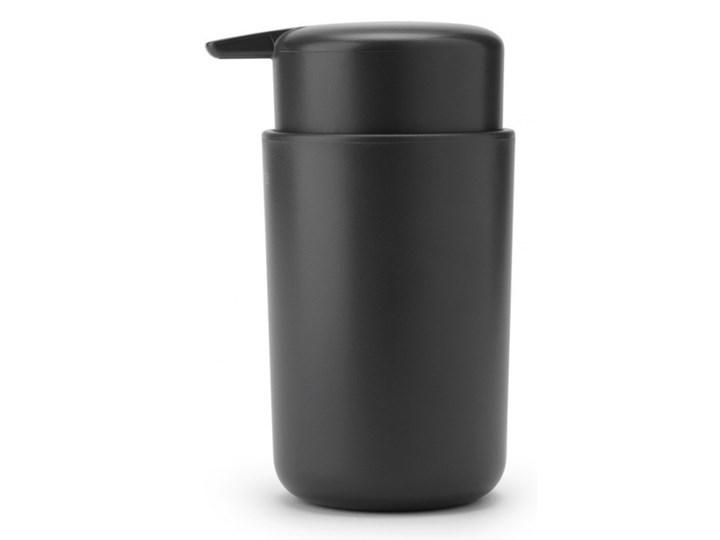 Dozownik do mydła w płynie 250ml ReNew ciemnoszary 280245 kod: 280245 Tworzywo sztuczne Dozowniki Kategoria Mydelniczki i dozowniki