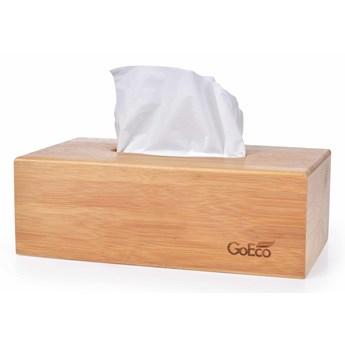 Bambusowa szkatułka GoEco® na chusteczki higieniczne