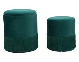 Zestaw 2 zielonych stołków Mauro Ferretti Constanzo