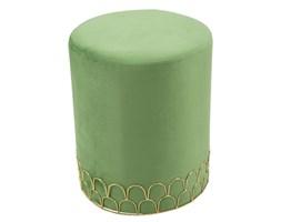 Zielony stołek Mauro Ferretti Valerio, ø 35 cm