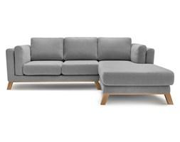 Szara sofa z szezlongiem po prawej stronie Bobochic Paris Seattle