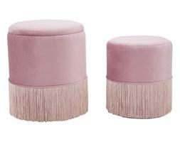 Zestaw 2 różowych stołków Mauro Ferretti Constanzo
