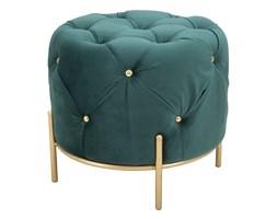 Zielony stołek Mauro Ferretti Glam, ø 45 cm