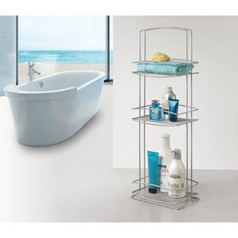 3-poziomowy stojak do łazienki Metaltex Onda, wys. 77 cm