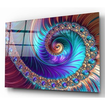 Obraz szklany Insigne Peacock