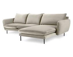 Beżowa narożna sofa prawostronna Cosmopolitan Design Vienna