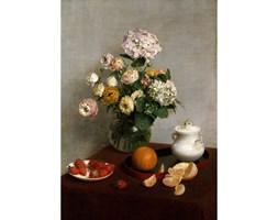 Reprodukcja obrazu Henri Fantin-Latour - Flowers and Fruit, 45x60 cm