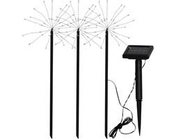 Zestaw 3 ogrodowych lamp solarnych LED Best Season Firework