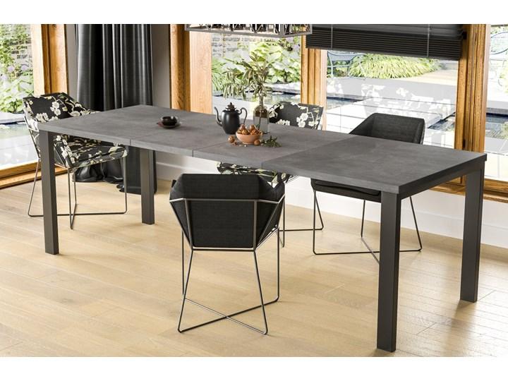 Stół Garant 170 z blatem 80x80 rozkładany do 170 cm Pomieszczenie Stoły do jadalni Długość 80 cm  Szerokość 80 cm Styl Nowoczesny