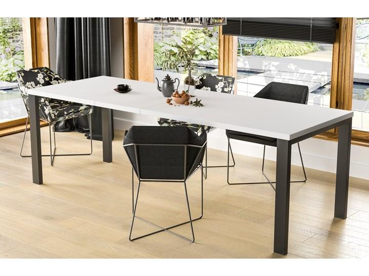 Stół Garant 170 z blatem 80x80 rozkładany do 170 cm Długość 80 cm  Styl Nowoczesny Szerokość 80 cm Rozkładanie