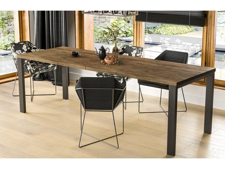Stół Garant 170 z blatem 80x80 rozkładany do 170 cm Szerokość 80 cm Długość 80 cm  Rozkładanie