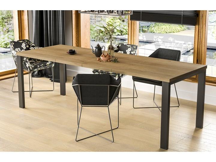 Stół Garant 170 z blatem 80x80 rozkładany do 170 cm Szerokość 80 cm Długość 80 cm  Styl Nowoczesny