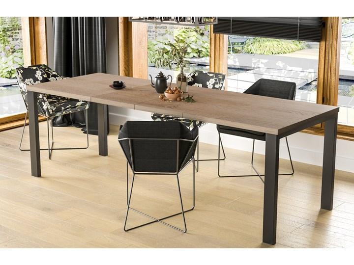 Stół Garant 170 z blatem 80x80 rozkładany do 170 cm Rozkładanie Szerokość 80 cm Długość 80 cm  Styl Nowoczesny