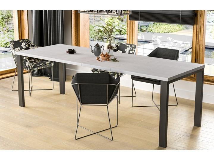 Stół Garant 170 z blatem 80x80 rozkładany do 170 cm Długość 80 cm  Szerokość 80 cm Styl Nowoczesny