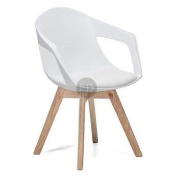 Krzesło Lizbona białe