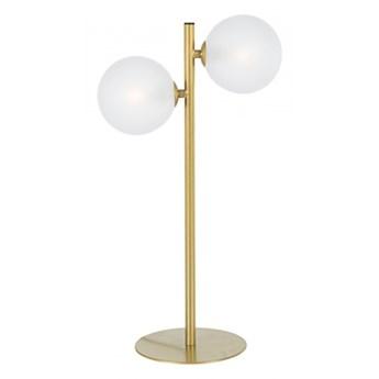 LAMPA STOŁOWA BALLS GOLD