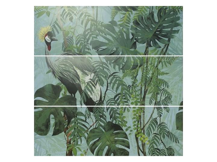 Decor Set ABC Virnia Turquoise Mat 40x120 płytka dekoracyjna Płytki podłogowe 40x120 cm Prostokąt Płytki ścienne Wzór Roślinny