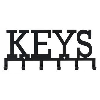 Wieszak ścienny Keys czarny kod: 5095853210152