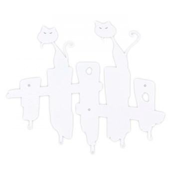 Wieszak ścienny Koty biały kod: 5900001519080