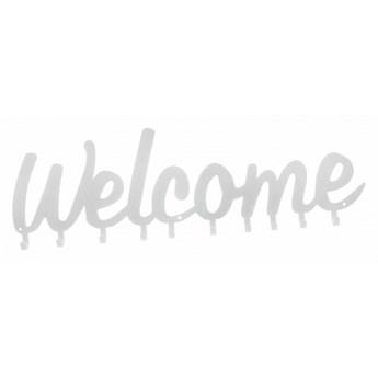 Wieszak ścienny Welcome biały kod: 3909928703482