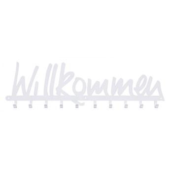 Wieszak ścienny Willkommen biały kod: 5901041781550