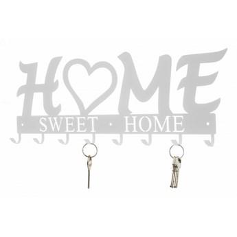Wieszak ścienny Home Sweet Home biały kod: 3909912703481
