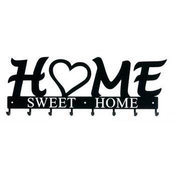 Wieszak ścienny Home Sweet Home czarny kod: 3909947703487
