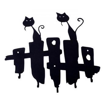 Wieszak ścienny Koty czarny kod: 5900001519073
