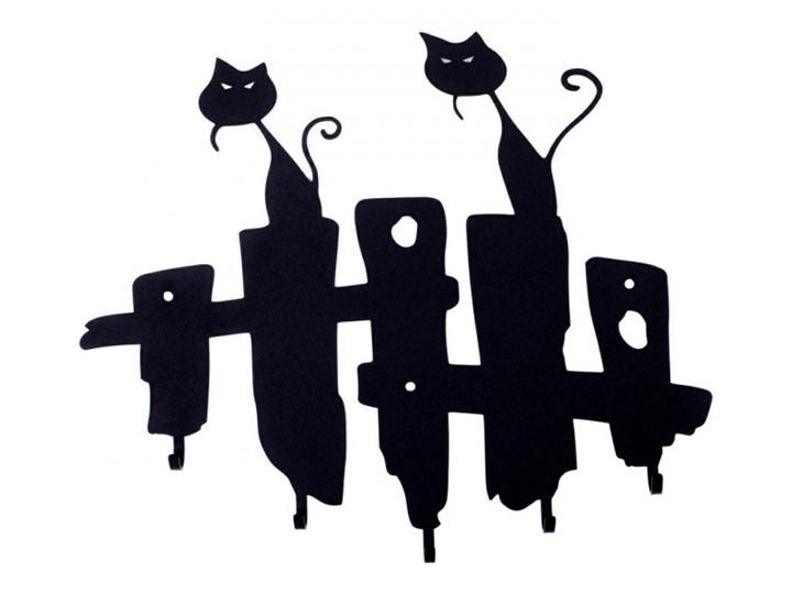 Wieszak ścienny Koty czarny kod: 5900001519073 Wieszak na klucze Kategoria Szafki i wieszaki na klucze
