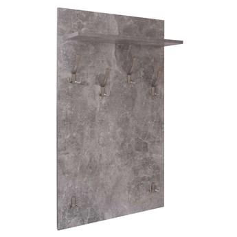 Wieszak do przedpokoju BORYS - beton