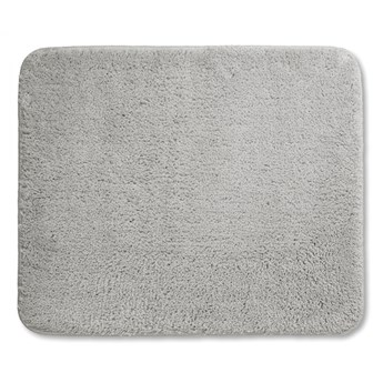 dywanik łazienkowy z mikrofibry, 1500g/m2, 80 x 50 cm, szary kod: KE-24015
