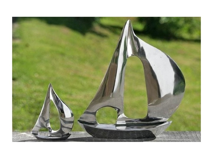 Dekoracyjna figurka yacht Metal Pojazdy Kategoria Figury i rzeźby