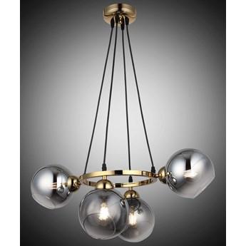 Nowoczesna lampa wisząca 1500-75-04 RANKO  SALON SYPIALNIA JADALNIA LUCEA