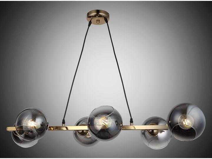 Nowoczesna lampa wisząca 1500-75-06-L RANKO NAD STÓŁ SALON SYPIALNIA JADALNIA LUCEA Lampa kula Metal Żyrandol Szkło Funkcje Brak dodatkowych funkcji