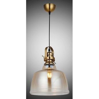 Patynowa nowoczesna lampa wisząca 8140-03-P01-AB LAGOS  SALON SYPIALNIA JADALNIA LUCEA