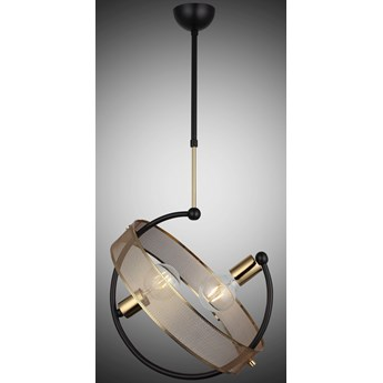 Lampa wisząca vintage 1501-75-02 NELA  SALON SYPIALNIA JADALNIA LUCEA