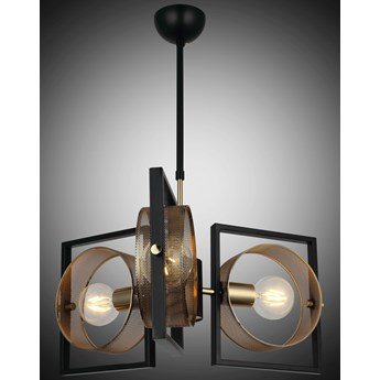 Lampa wisząca vintage 1498-74-03 SAMA  SALON SYPIALNIA JADALNIA LUCEA STL