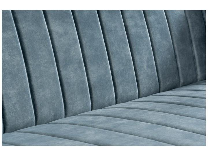 Sofa DIAMOND z funkcją spania Stała konstrukcja Kolor Miętowy Nóżki Na nóżkach