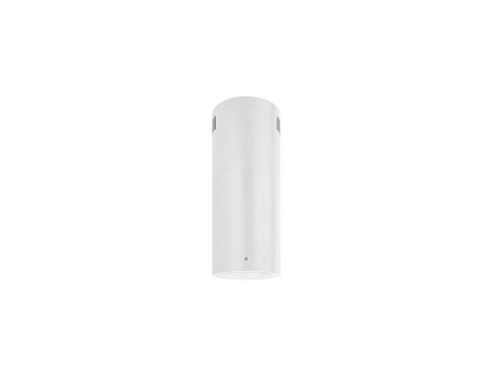 TUBUS W Biały Pochłaniacz z filtrem węglowym Kategoria Okapy