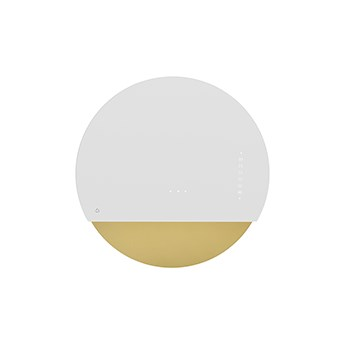 Eclipse Biały/ Złoty Pochłaniacz z filtrem węglowym