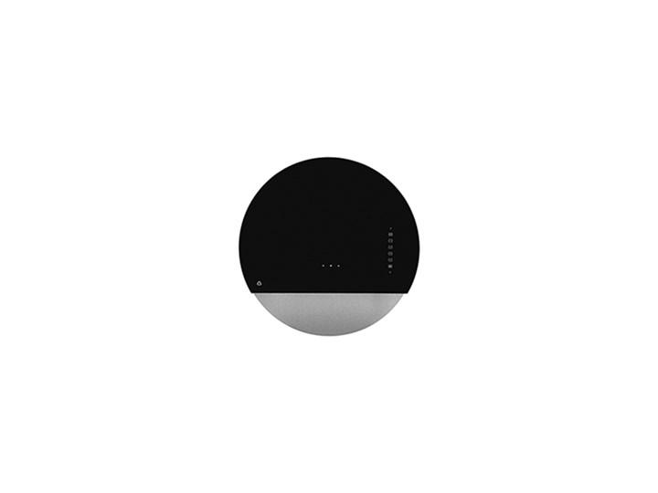 Eclipse Czarny / Srebrny Pochłaniacz z filtrem węglowym Kolor Szary Kategoria Okapy