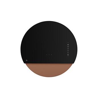 Eclipse Czarny/ Różowe złoto Pochłaniacz z filtrem węglowym