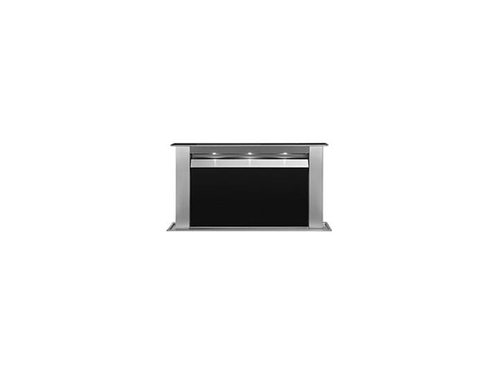 Moondraft Inox/ Czarne szkło Pochłaniacz z filtrem węglowym