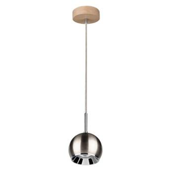 Ball Wood Wisząca Spot-Light 5141174 Drewno Dębowe/Metal