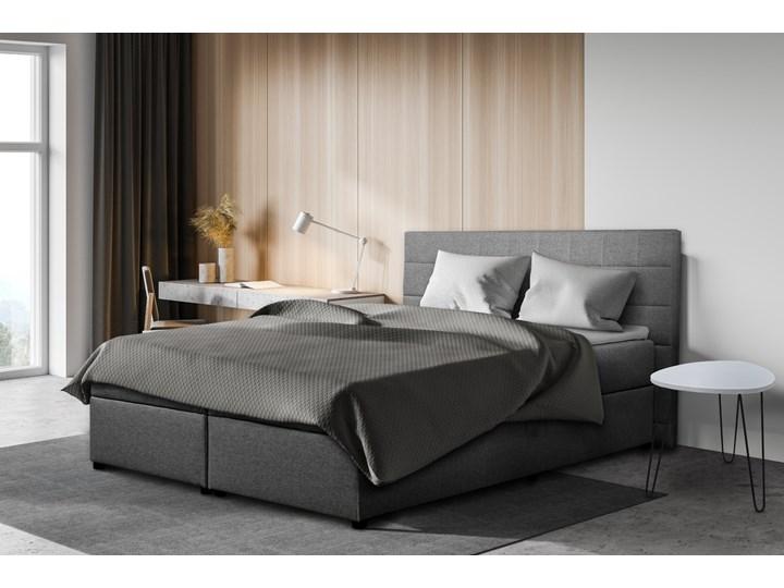 SELSEY Łóżko kontynentalne Beja Tkanina Drewno Kategoria Łóżka do sypialni