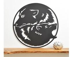 Wilki yin-yang - dekor ścienny