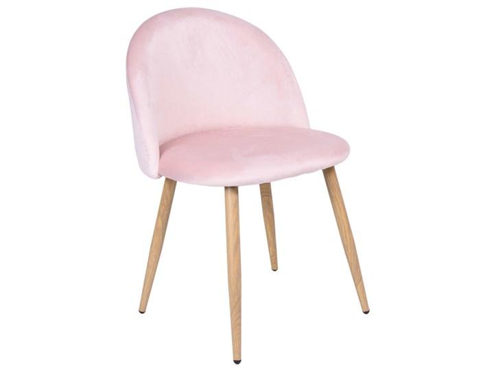 Krzesło aksamitne K-JAZZ VELVET różowe Głębokość 42 cm Drewno Tapicerowane Szerokość 48 cm Tworzywo sztuczne Wysokość 33 cm Welur Szerokość 49 cm Wysokość 79 cm Wysokość 78 cm Tkanina Głębokość 48 cm Metal Kategoria Krzesła kuchenne