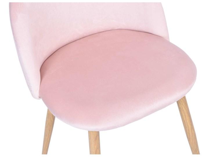 Krzesło aksamitne K-JAZZ VELVET różowe Welur Szerokość 49 cm Drewno Głębokość 42 cm Metal Głębokość 48 cm Szerokość 48 cm Tworzywo sztuczne Wysokość 79 cm Tapicerowane Tkanina Wysokość 33 cm Wysokość 78 cm Kategoria Krzesła kuchenne